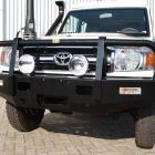 Bull bars and Winches